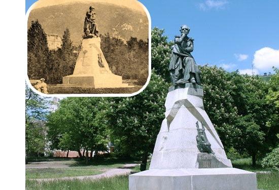 Памятник Роза из двух видов гранита Болохово Мраморный крестик Саяногорск